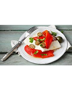 Resepti-Kotijuusto-paprikasalaatti