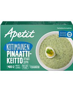 PAKASTE APETIT KOTIMAINEN PINAATTIKEITTO 400G