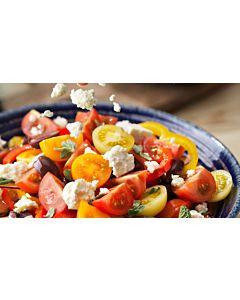 Resepti-Kreikkalainen salaatti tomaateilla ja Apetinalla