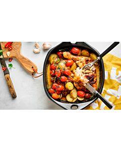 Resepti-Lempeän tulinen uunikanapata