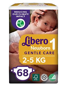 LIBERO NEWBORN TEIPPIVAIPPA KOKO 3 (4-8 KG) 68KPL