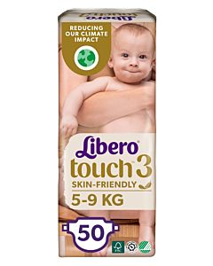 LIBERO TOUCH TEIPPIVAIPPA KOKO 3 (4-8KG) 50KPL