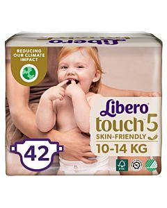 LIBERO TOUCH TEIPPIVAIPPA KOKO 5 (10-14KG) 42KPL