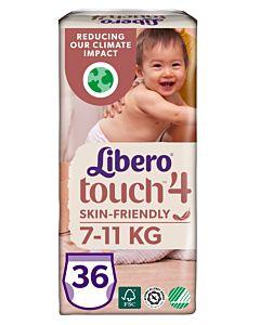 LIBERO TOUCH HOUSUVAIPPA KOKO 4 (7-11KG) 36KPL