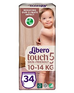 LIBERO TOUCH HOUSUVAIPPA KOKO 5 (10-14KG) 34KPL