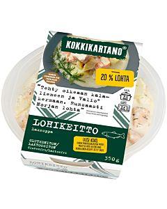 KOKKIKARTANO LOHIKEITTO 350G GLUTEENITON