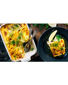 Resepti-Lohi-perunavuoka ja voisula