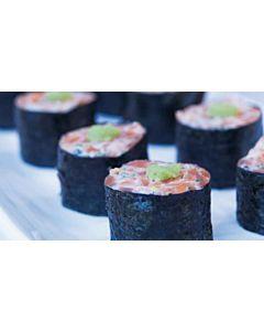 Resepti-Lohirullat sushin tapaan