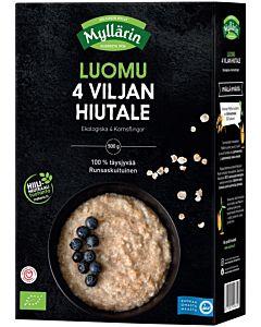 MYLLÄRIN LUOMU 4-VILJAN HIUTALE 500G