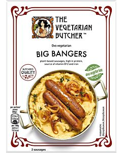 PAKASTE THE VEGETARIAN BUTCHER BANGERS 160G