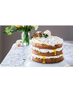 Resepti-Mango-passion naked cake
