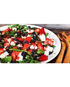 Resepti-Marjakauden salaatti
