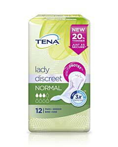 TENA LADY SIDE DISCREET NORMAL 12KPL