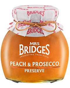 MRS BRIDGES PERSIKKAHILLO PROSECCO 340G