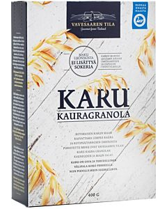 VAVESAAREN KARU KAURAGRANOLA 400G