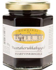 HOMMANÄS MUSTAHERUKKAHYYTELÖ 195G