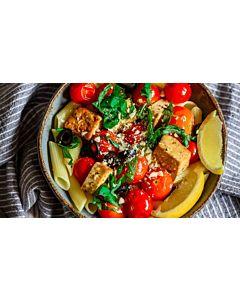 Resepti-Paahdettu tofu-tomaattipasta