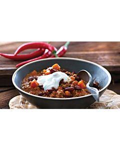 Resepti-Nopea chili con carne ja pannuleipä