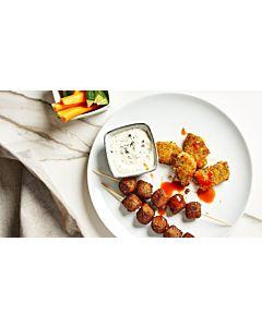 Resepti-Kasvis-dippilautanen ja sour cream & onion -dippi