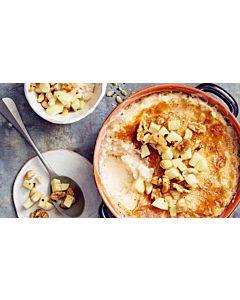 Resepti-Omenainen uuniriisipuuro