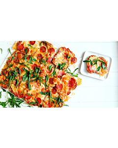 Resepti-Paahtispizza