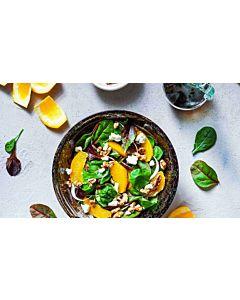 Resepti-Pähkinäinen appelsiinisalaatti