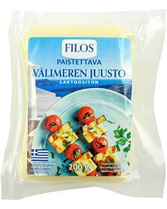 FILOS VÄLIMEREN PAISTETTAVA JUUSTO 200G LAKTOOSITON
