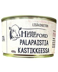 LAIDUN HEREFORD PALAPAISTISÄILYKE 400G