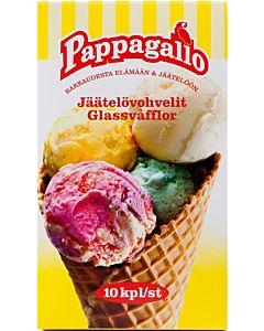 PAPPAGALLO 10KPL JÄÄTELÖVOHVELI 110G