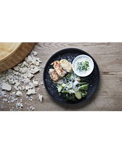 Resepti-Kalapuikot Parmigiano Reggianon kera