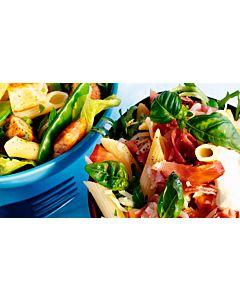 Resepti - Muunneltava lämmin pastasalaatti