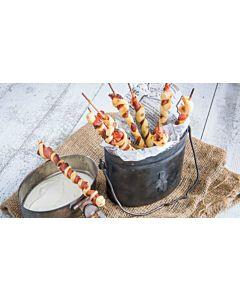 Resepti-Pekonigrissinit grillissä