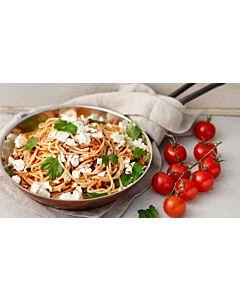 Resepti-Pikantti kotijuustopasta
