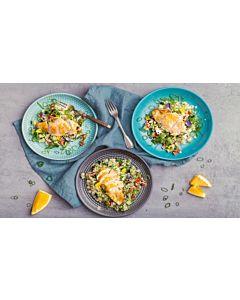 Resepti-Pikkufileet & appelsiini-tabbouleh