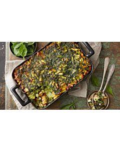 Resepti-Pinaattinen Mifu-perunakiusaus