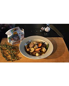 "Resepti-Ranskalainen lihapata ""Pot au Feau"""