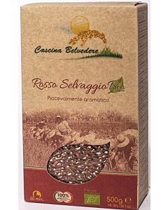 CASICINA BELVEDRE RIISI PUNAINEN ROSSO LUOMU 500G