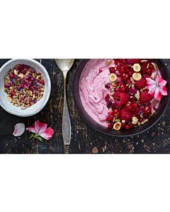 Resepti-Punainen smoothiekulho