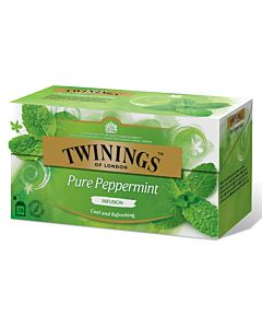 TWININGS PURE PEPPERMINT 20PS/40G