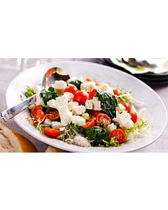 Resepti-Ricotta-vihersalaatti