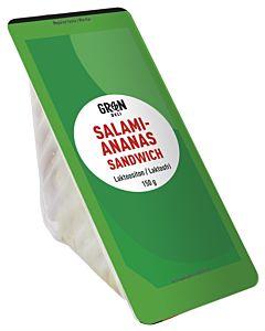 GREENDELI SALAMI-ANANAS SANDWICH 150G LAKTOOSITON