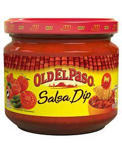 OLD EL PASO HOT PICANTE SALSA 312G