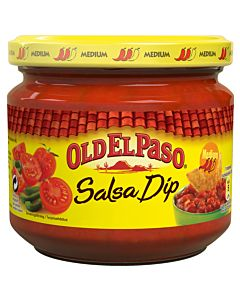 OLD EL PASO MEDIUM SALSAKASTIKE ONION&PEPPER 312G