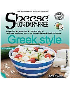 SHEESE GREEK STYLE VEGAANINEN FETATYYPPINEN PALAJUUSTO 200G