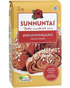 SUNNUNTAI ERIKOISVEHNÄJAUHO 2KG