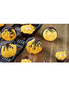 Resepti-Suklaiset halloween-kuppikakut