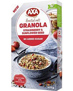 AXA GRANOLA STRAWBERRY & SUNFLOWER SEEDS 475G