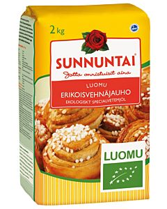 SUNNUNTAI LUOMU ERIKOISVEHNÄJAUHO 2KG