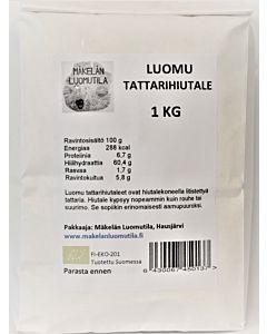 MÄKELÄN LUOMUTILA TATTARIHIUTALE 1KG LUOMU