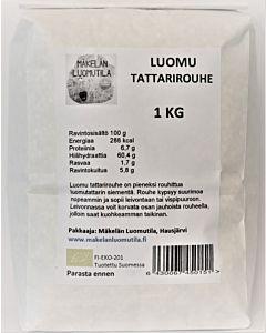 MÄKELÄN LUOMUTILA TATTARIROUHE 1KG LUOMU